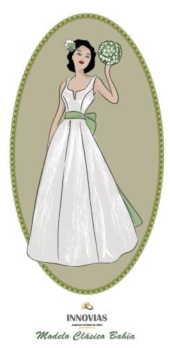 vestidos y trajes de novia en alquiler o renta de innovias | innovias
