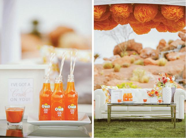 Innovias | Blog de Innovias – Vestidos de novia a precios ... Tangerine Tango Wedding
