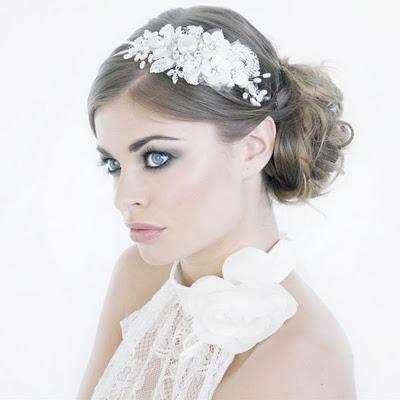Diademas de novia innovias for Modelos de diademas