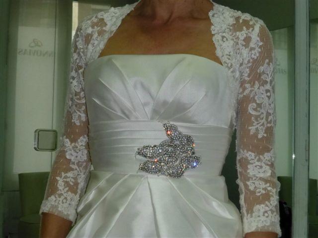 Bolero de novia vanina de Innovias