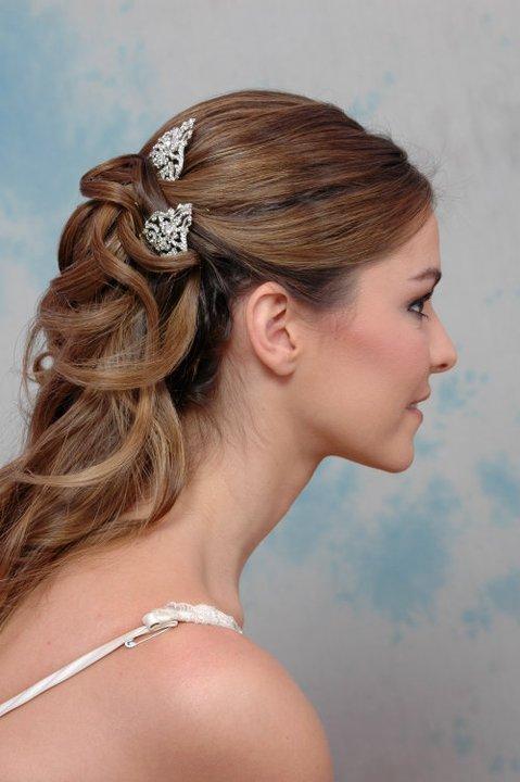 Peinados de novia 2012 semirecogidos - Peinados de trenzas modernas ...