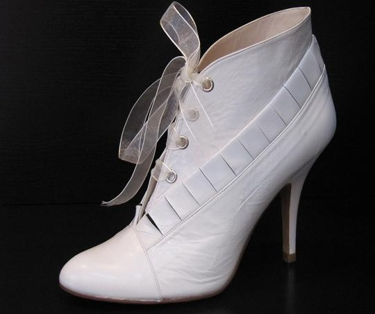 Resultado de imagen de botines de novia
