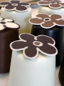 chocolate flor