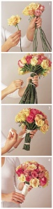 DIY bouquet boda