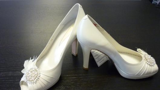 zapato de novia sn