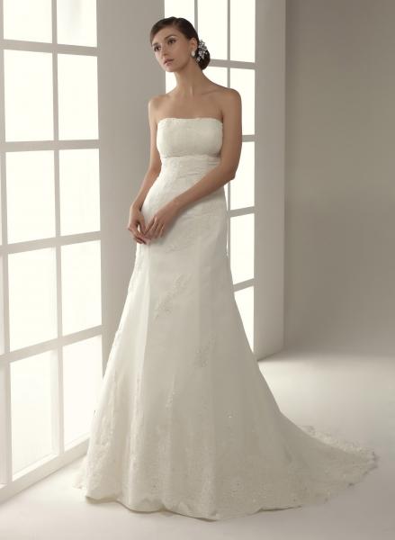 Elige el vestido de novia según tu cuerpo (5/6)