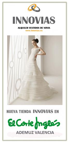 alquiler vestidos de novia valencia | innovias