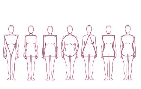 Elige el vestido de novia según tu cuerpo (1/6)