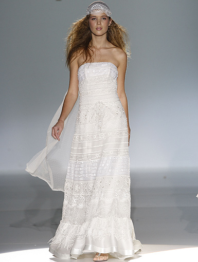 Vestidos novia hippie sevilla