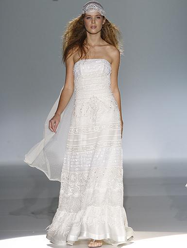 vestidos de novia estilo hippie chic. | innovias