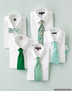 corbatas en emerald