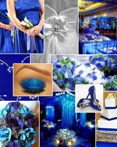 poupurrí de cosas azules wedding