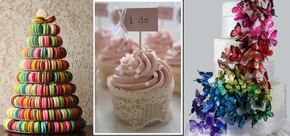 ¿Tarta de boda o torre de cupcakes? (6/6)