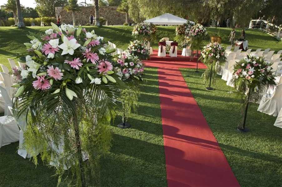 La ceremonia de la boda protocolo ii innovias for Decoracion boda exterior