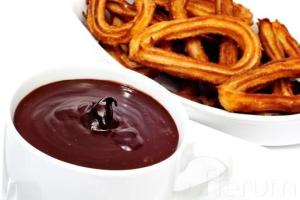 chocolate con churros boda
