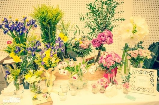 selección de flores
