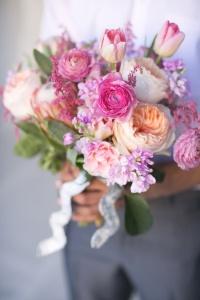 spring weddin bouquet