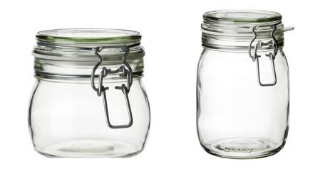 Diy nupcial decora con sencillos recipientes innovias - Tarros de cristal con tapa ...