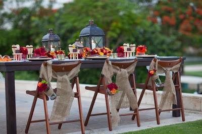 decoracion-boda-sillas-flores-otoño-farolillos