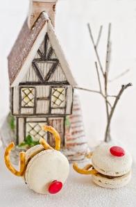 macarons tematica invierno