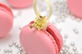 macarons y perlas