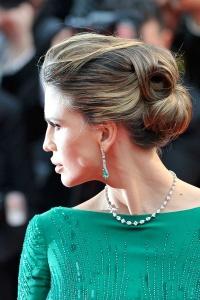 peinado de novia estilo lady