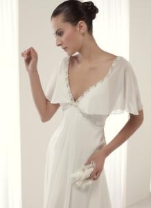 vestido de novia en renta Badet