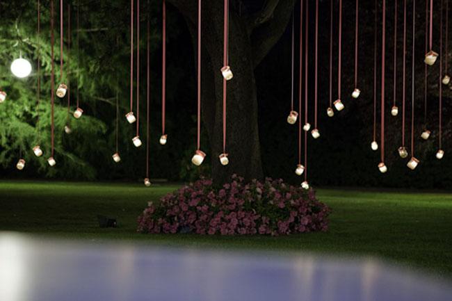 Decora con velas ambiente nupcial innovias for Decoracion fiesta jardin noche