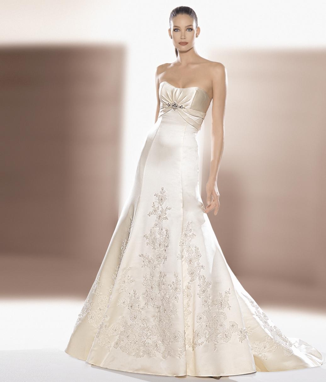 vestidos de novia color oro | Innovias