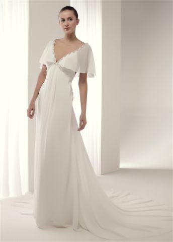 estilo griego en vestidos de novia, alternativa innovias triunfadora