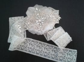 cinta de novia vintage