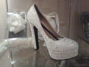 zapato de novia Innovias encaje