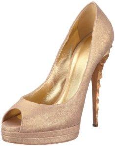 zapatos dorados casadei1