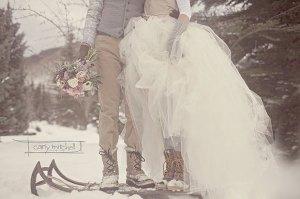 bodas-invierno trineo