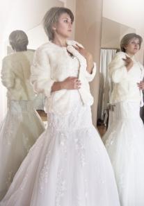 abrigo novias innovias