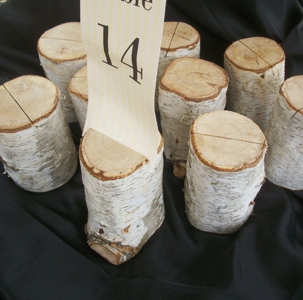 troncos para numero de mesa