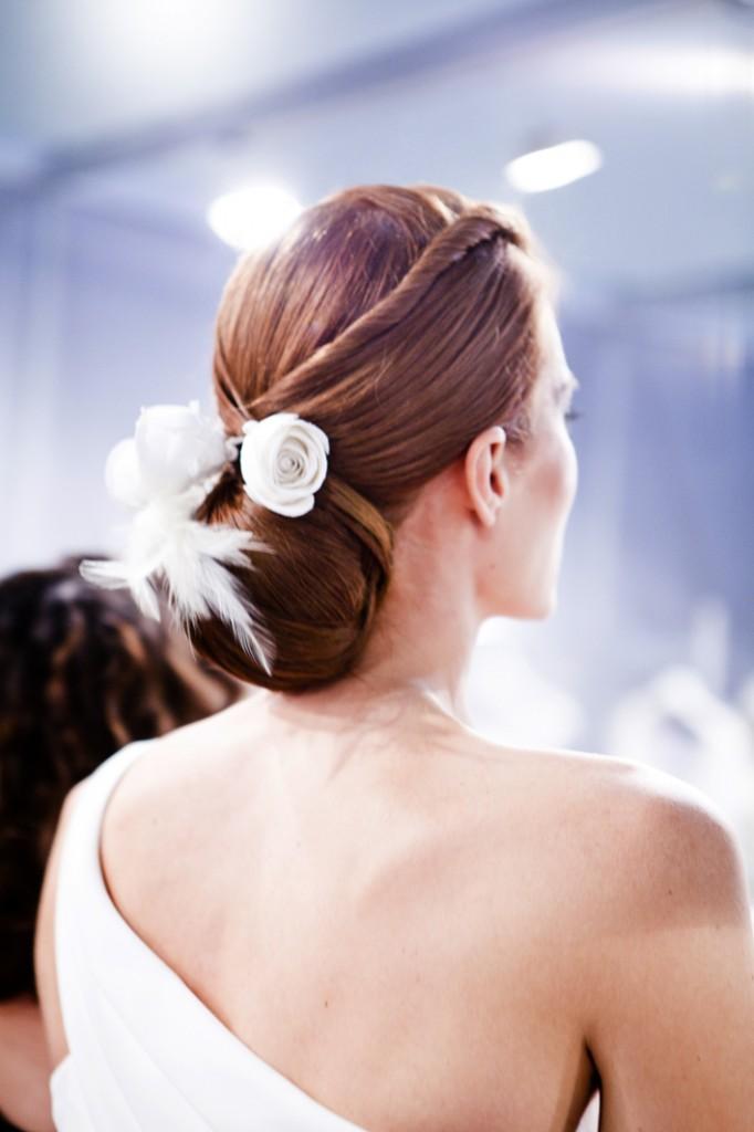 Peinados de novia trenzas innovias - Recogido de novia ...