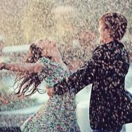Una sesión pre-boda bajo la lluvia (2/6)