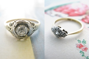 anillos compromiso_vintage