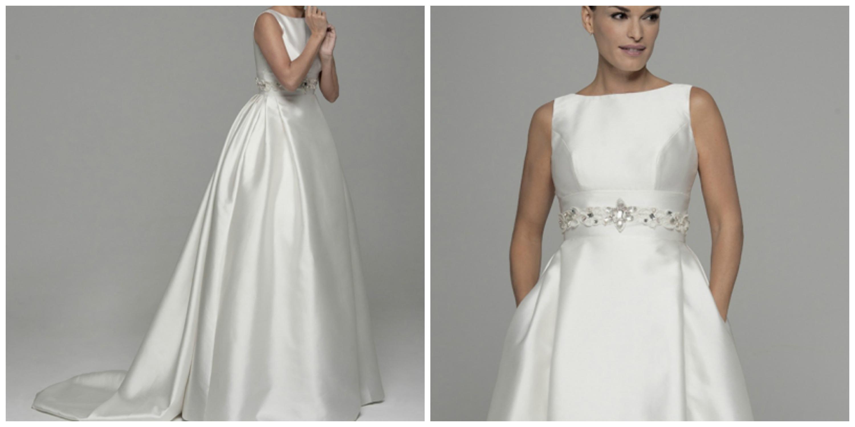 Vestido de novia estilo audrey hepburn