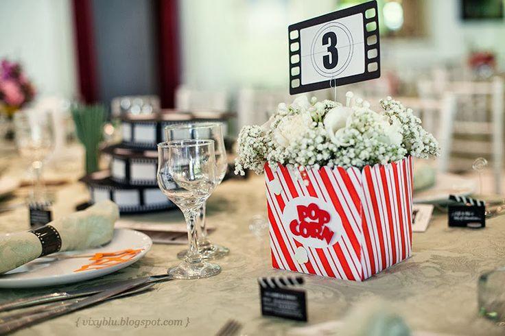 Centre De Table Theme Cinema D Coration Forum