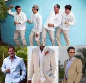 invitados boda guayabera