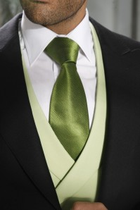 novio en verde