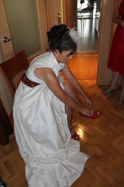 zapatos novia rojos