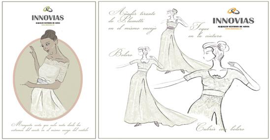 el taller innovias de vestidos de novia | innovias