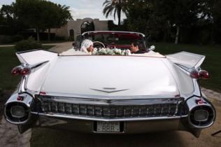 coche boda flores