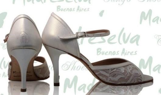 zapatos baile novias tango chic