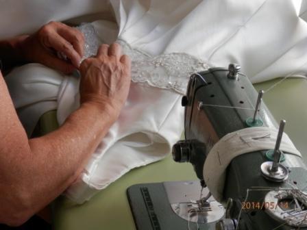 Modista arreglos vestidos de novia
