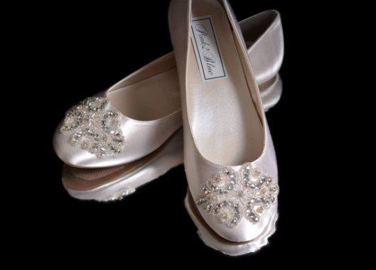 bailarina de novia plata