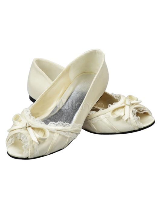 Ivory-Bow-Chunky-Heel-Peep-Toe-Bridal-Wedding-Sandals-210420-0